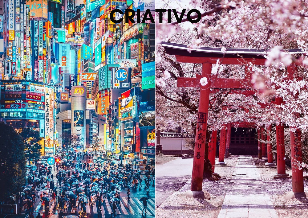 as cidades de cada estilo - criativo