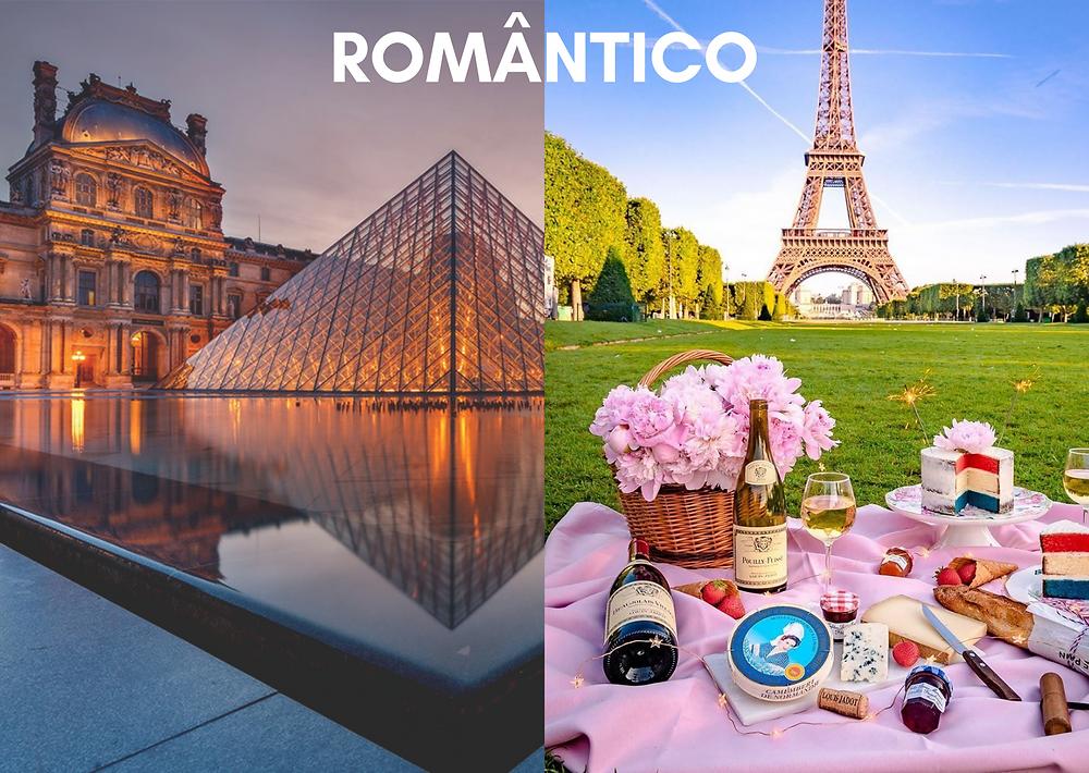 as cidades de cada estilo - romântico