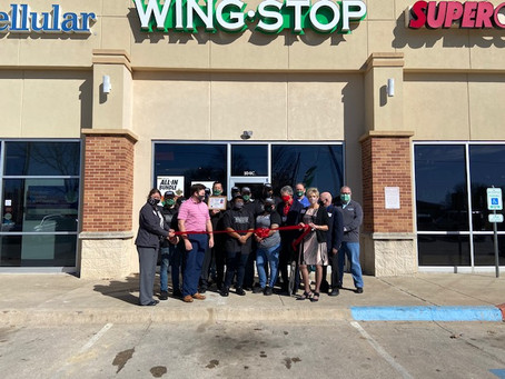 VIBE Opens 5th Wingstop location in Ardmore, OK