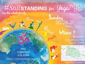 Professeurs de KY recherchés pour le Jour International de Yoga à Bruxelles