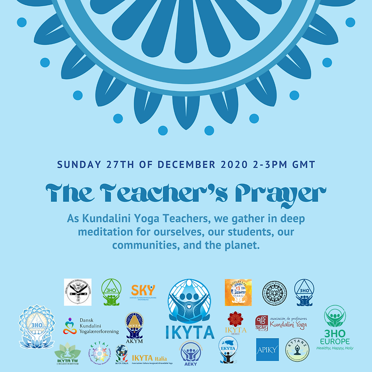 Join Your Fellow Teachers for a Global, Year-End Meditation