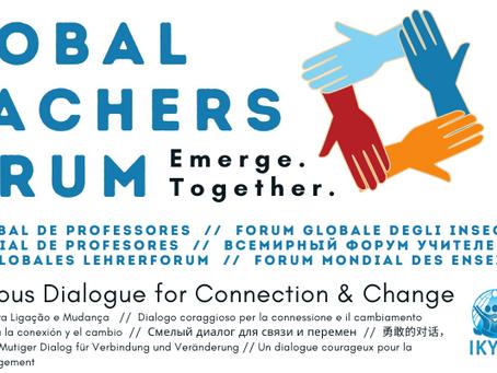 Global Teachers Forum Nov 2020 - Save the Date & Register