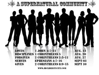 A Supernatural Community Forgives