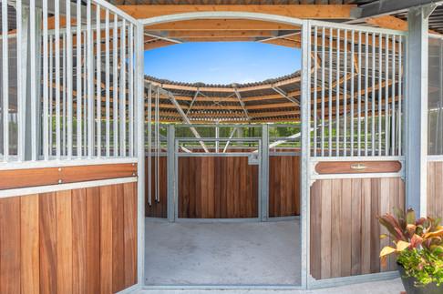 Entry gate Track Roof full option