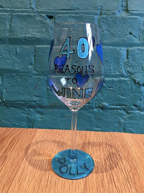 40 Reasons to WINE