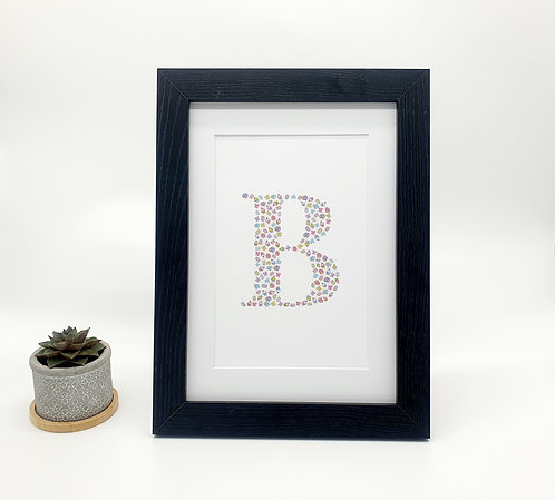 Afternoon Tea Letter Print