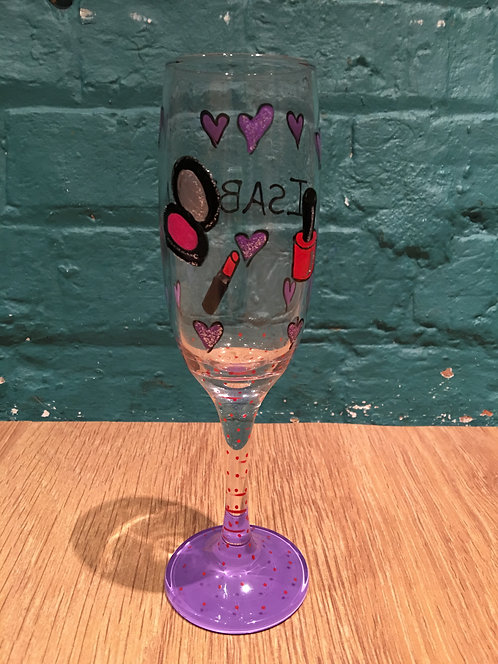 Fashion Queen - Personalised Champagne Flute