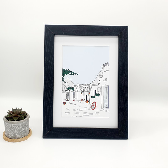 Alberobello_Print