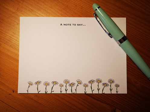 Daisy Notecards