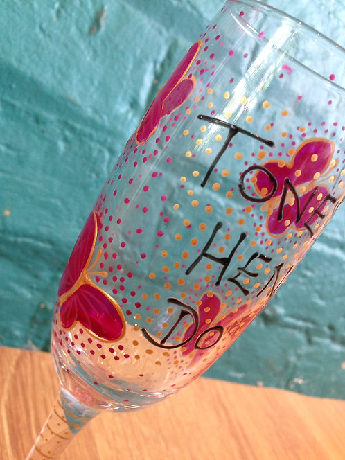 Butterfly Hen Party Glasses