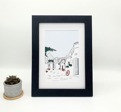 Alberobello Print