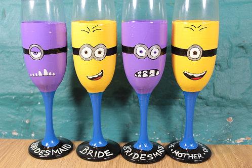 Character Hen Do Glasses