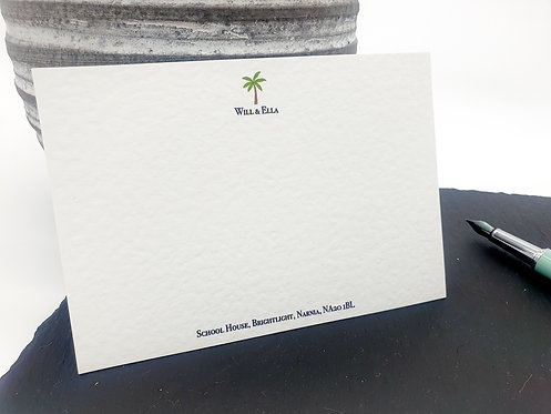 Luxury Palm Tree Notecards