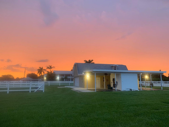 Our location experiences beautiful South Florida sunsets