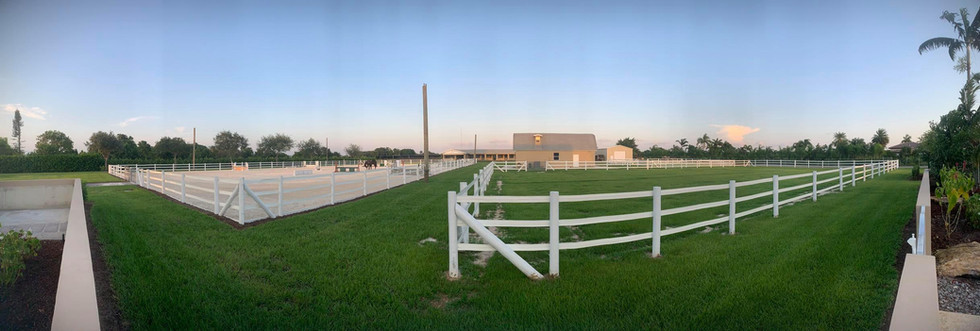 Panorama of Strong Current Stables