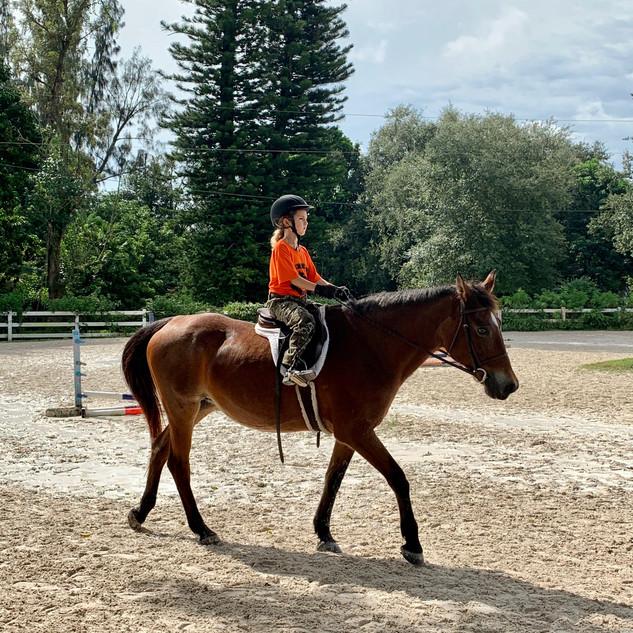 Fun in the saddle