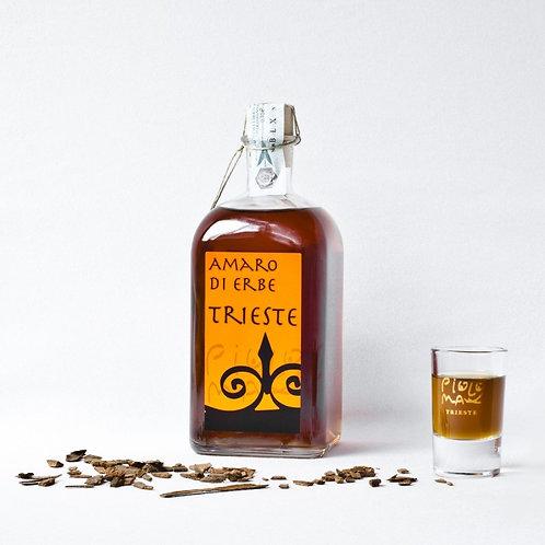 Amaro di Erbe Trieste 200 ml  - La Piccola Bottega Spiritosa di Piolo & Max