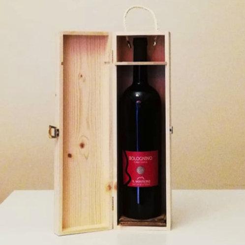 Bologna Rosso Riserva DOC 2016 - Il Monticino MAGNUM in cofanetto di legno
