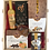 Thumbnail: Confezione regalo cesta legno per  3  bottiglie