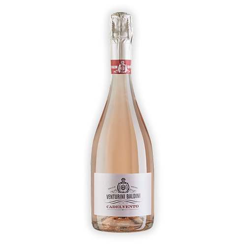 """Lambrusco Spumante Rosé DOP Brut """"Cadelvento"""" - Venturini Baldini BIOLOGICO"""