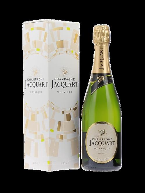 """Champagne AOC Brut """"Mosaïque"""" -  Jacquart con astuccio"""
