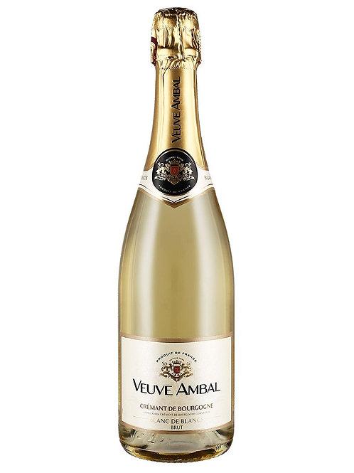 Crémant de Bourgogne AOC Blanc de Blancs Brut - Veuve Ambal