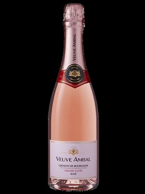 """Crémant de Bourgogne AOC Rosé Brut """"Grande Cuvée"""" - Veuve Ambal"""