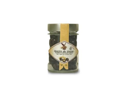Praline allo zenzero ricoperte di cioccolato fondente - Torrone Di Iorio 1750