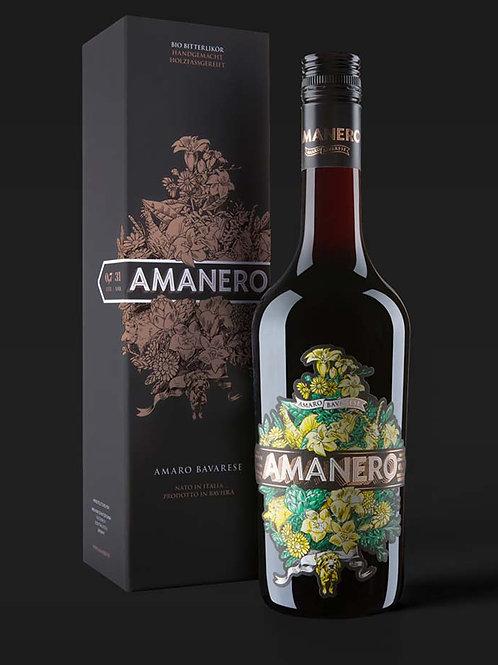 Amaro Amanero astucciato - Brennerei Schnitzer BIO