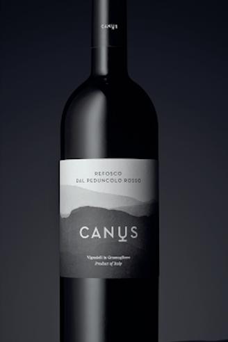 Refosco dal Peduncolo Rosso Colli Orientali del Friuli DOC 2011 - Canus