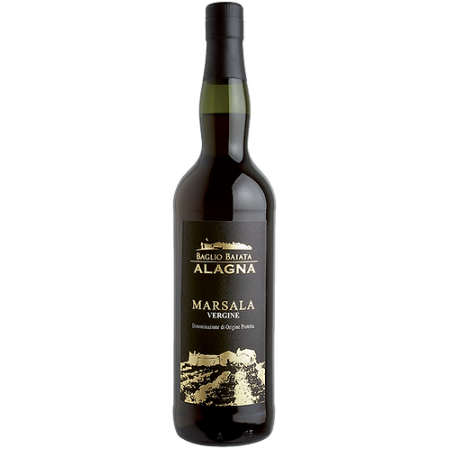 Marsala Vergine DOP Vino Liquoroso Secco - Giuseppe Alagna
