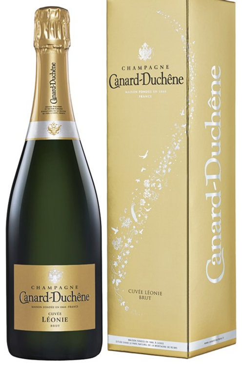 "Champagne AOC Brut ""Cuvée Léonie"" con astuccio - Canard Duchêne"