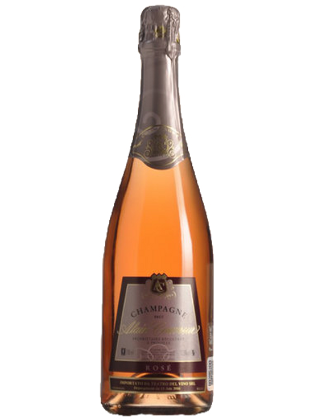 Champagne AOC Rosé Brut - Alain Couvreur