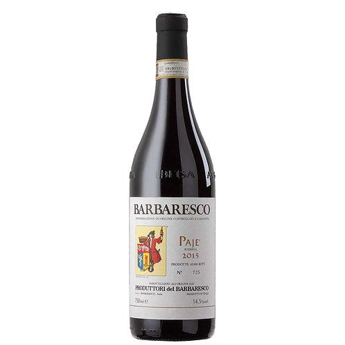 Barbaresco DOCG Riserva Cru Paje' 2015 - Produttori del Barbaresco