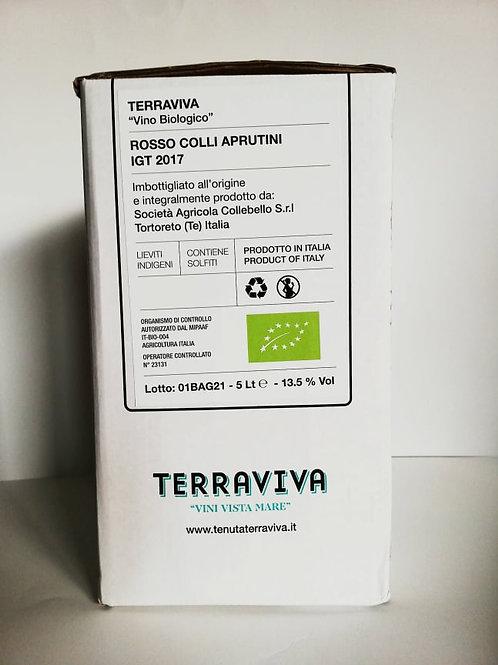 Montepulciano d'Abruzzo IGT in Bag in Box 5 litri - Tenuta Terraviva BIOLOGICO