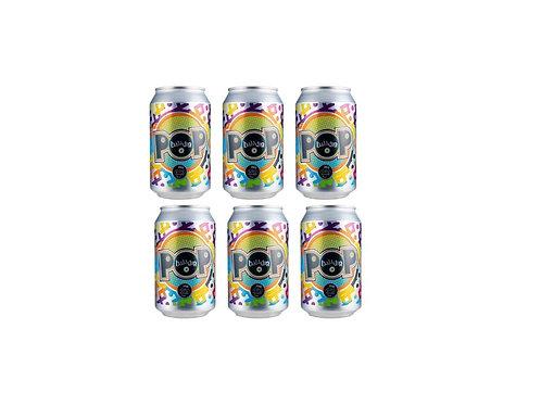 OFFERTA 6 LATTINE di Birra POP 330 ml - Baladin