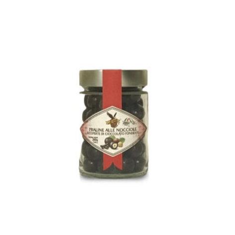 Praline alle nocciole ricoperte di cioccolato fondente - Torrone Di Iorio 1750