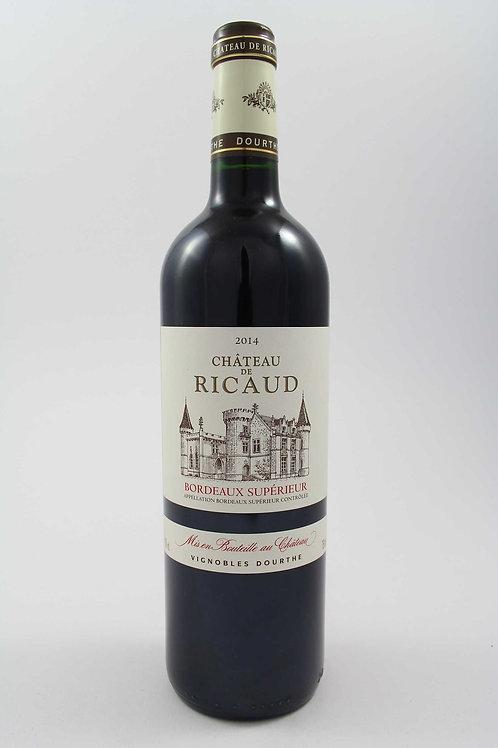 Bordeaux Supérieur AOC 2014 - Château de Ricaud