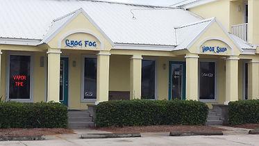 Grof Fog Vapor Shop in Back Beach Plaza