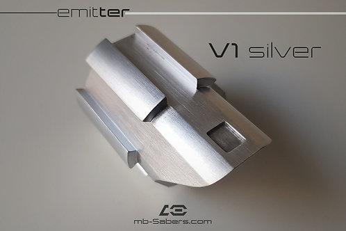 Emitter V1 silver