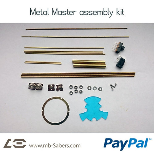 Metal Master Kit - 14650 or 18650