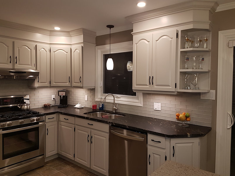 Kitchen Cabinet Painters Ontario Spray It Like New Kitchens