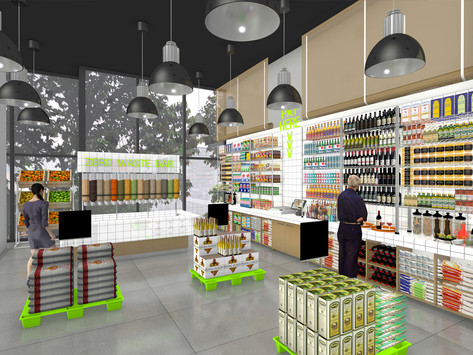 XPACE, an innovation, sustainable and eco-friendly retail and f&b space.
