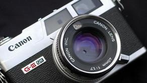 La Canonet G-III QL17 e le fotocamere a telemetro degli anni '70