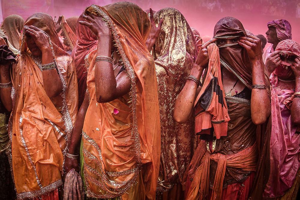 Holi Festival, Mathura, India