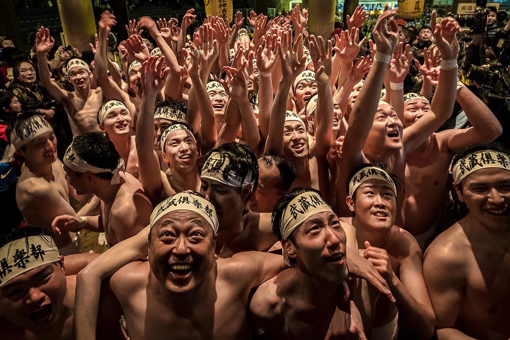 Naked Man Festival, Okayama, Japan