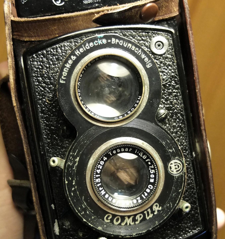 Una Rolleiflex del 1932