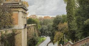 Le mura di Roma all'Ara Pacis, fotografie di Andrea Jemolo