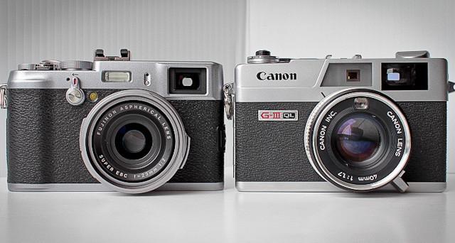 Fuji X100 e Canonet a confronto
