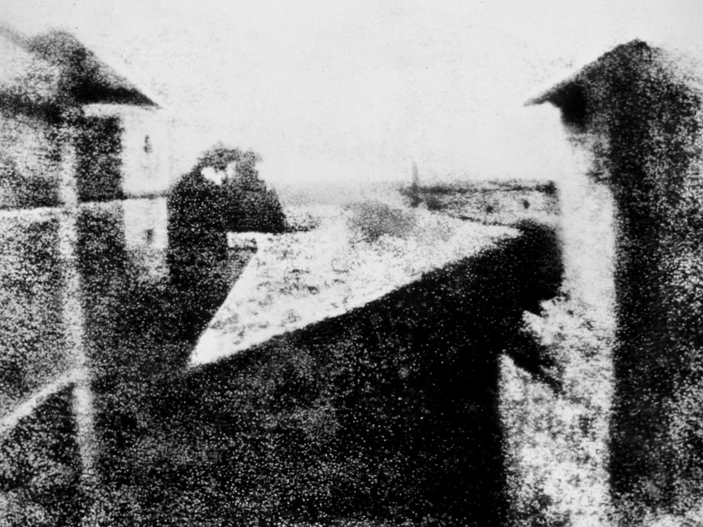 Vista dalla finestra a Le Gras (1826